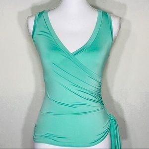 Papaya Women's Faux Wrap Top Size Sm